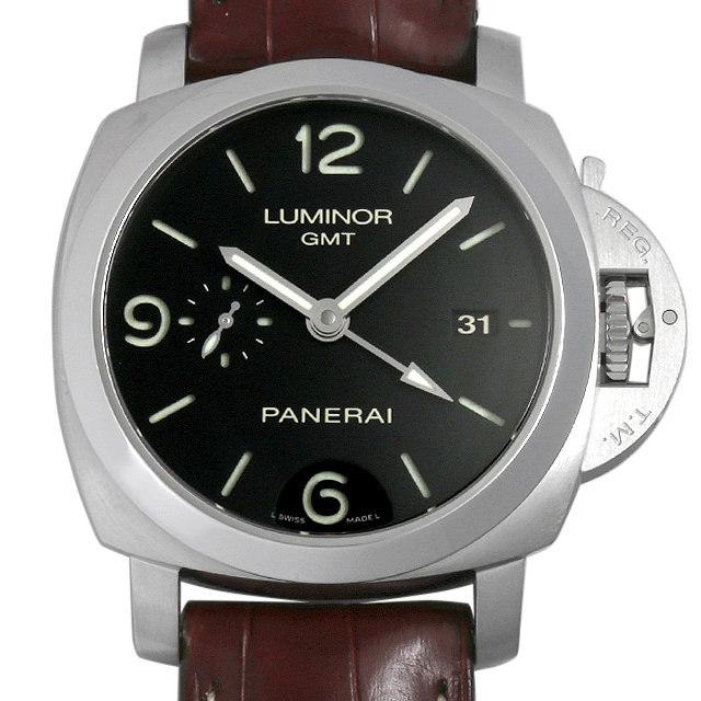 パネライ ルミノール1950 3DAYS GMT L番 PAM00320 中古 メンズ