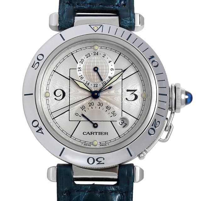 カルティエ パシャ パワーリザーブ GMT W3103755