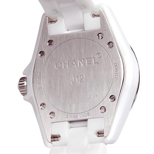 J12 白セラミック 8Pダイヤ ダイヤベゼル H3110 サブ画像2