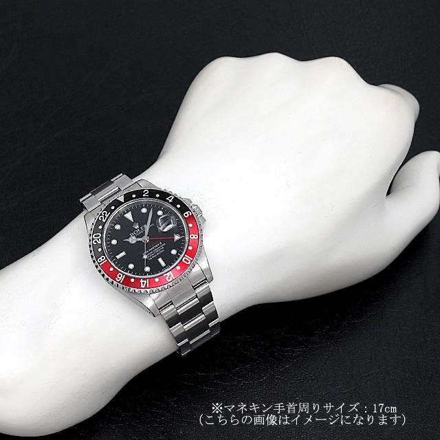 GMTマスターII 赤黒ベゼル リアルマッコイズ チャックイエーガー セカンドモデル 16710 サブ画像4