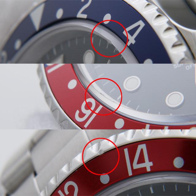 GMTマスターII 赤青ベゼル 16710 サブ画像4