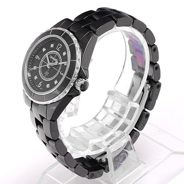 J12 黒セラミック 8Pダイヤ H2569 サブ画像1