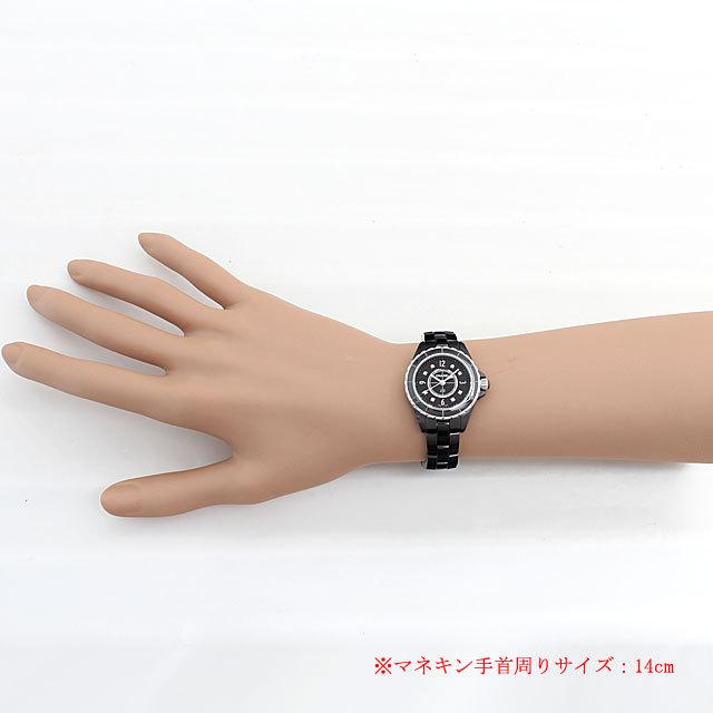 J12 黒セラミック 8Pダイヤ H2569 サブ画像4