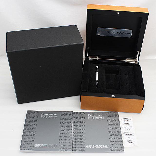 ルミノール1950 3DAYS GMT パワーリザーブ PAM00347 サブ画像5