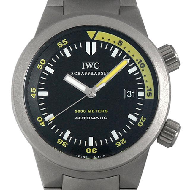IWC アクアタイマー IW353803 中古 メンズ