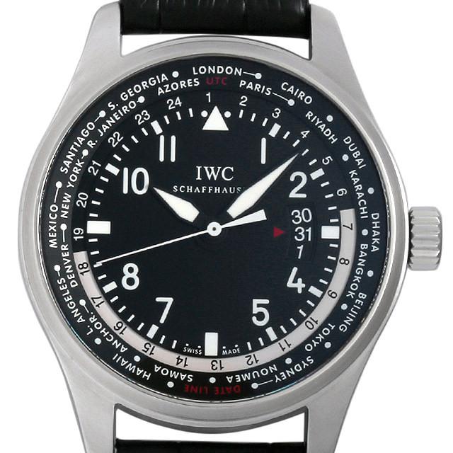 SALE IWC パイロットウォッチ ワールドタイマー IW326201 中古 メンズ