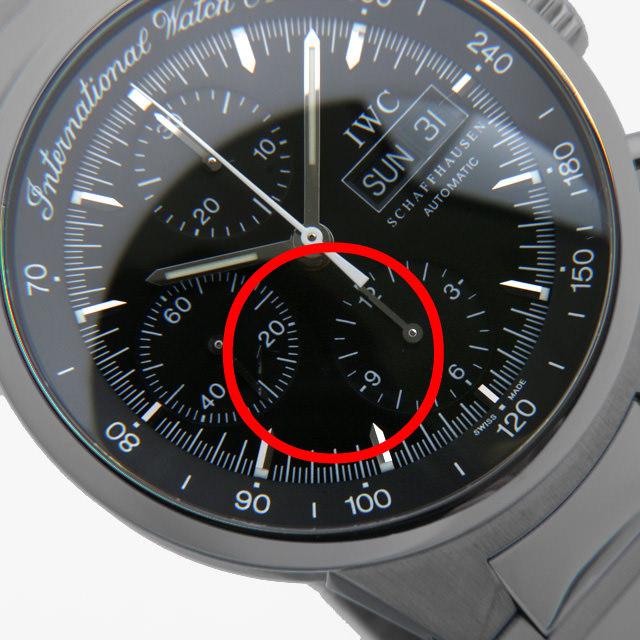 GSTクロノグラフ IW370708 サブ画像5