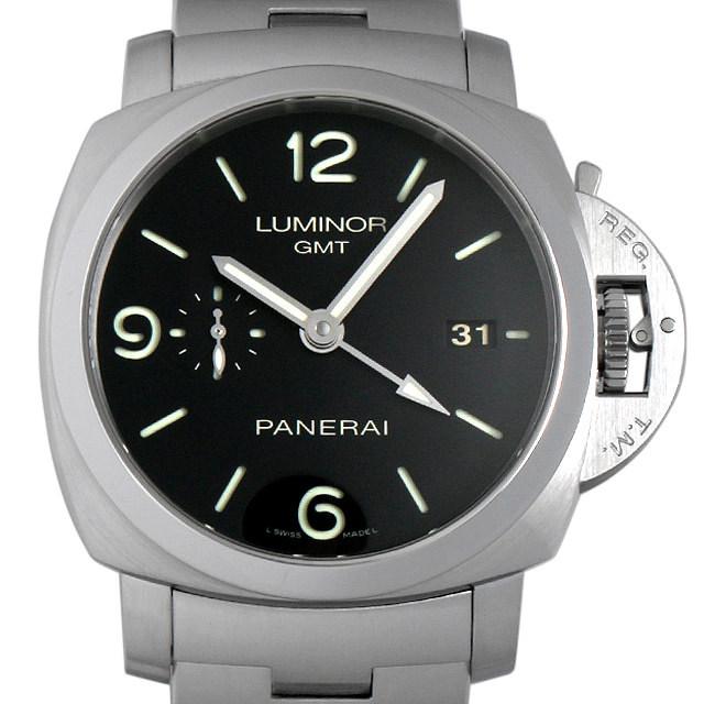 パネライ ルミノール1950 3DAYS GMT M番 PAM00329 中古 メンズ
