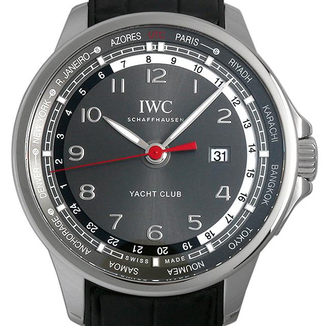 IWC ポルトギーゼ ヨットクラブ ワールドタイマー 世界限定500本 IW326602 中古 メンズ