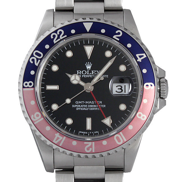 ロレックス GMTマスター 赤青ベゼル T番 16700 中古 メンズ