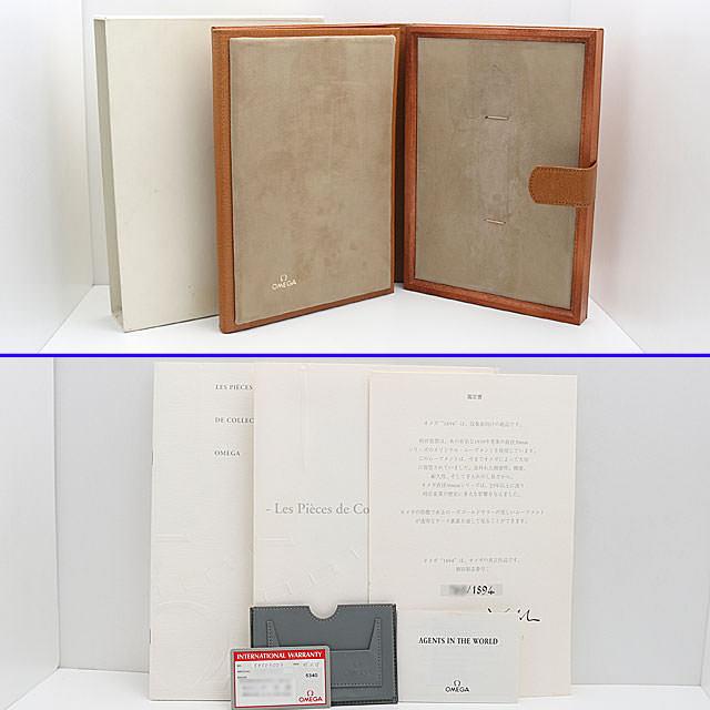 ルネッサンス1894 オメガ生誕100周年 世界限定1894本 5950.30.03 サブ画像5