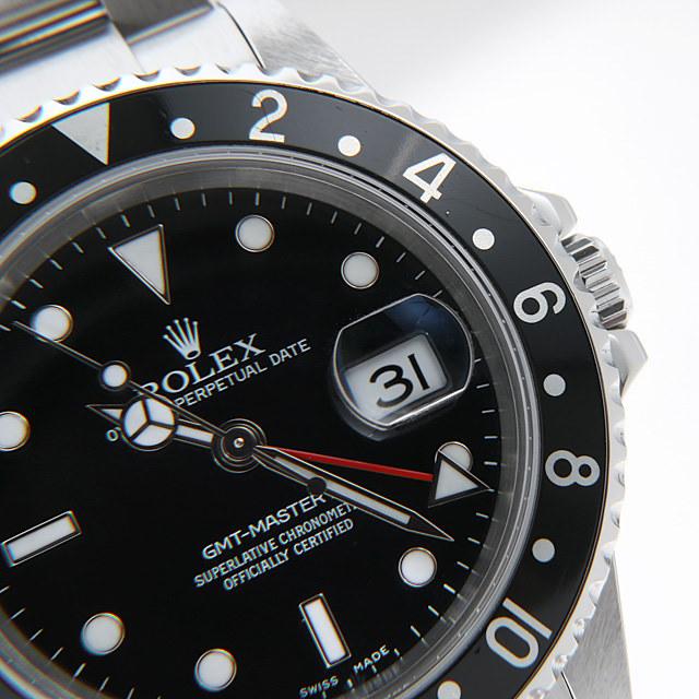 GMTマスターII 黒ベゼル 16710 サブ画像4