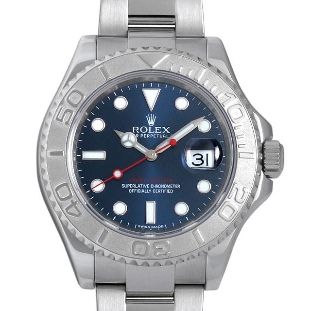 ロレックス ヨットマスター ロレジウム 116622 ブルー