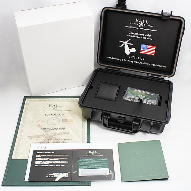 ストークマン アイオノスフィア600 世界限定600本 CM1090C-S1J-BK サブ画像4