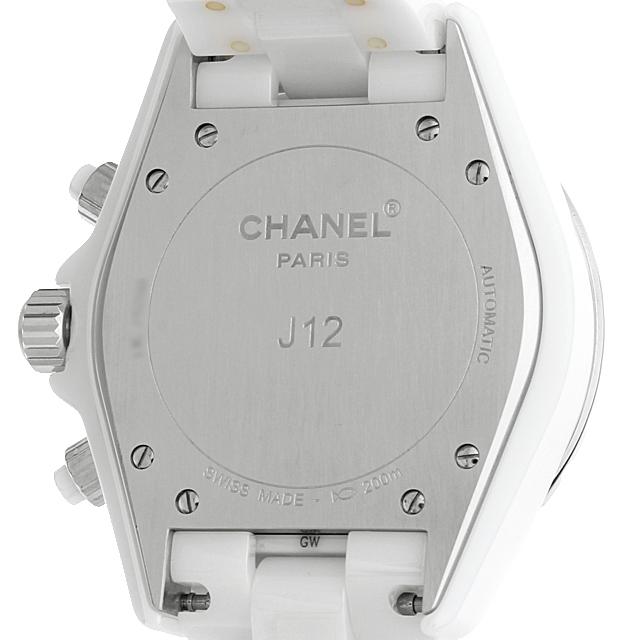 J12 白セラミック クロノグラフ 9Pダイヤ H2009 サブ画像2