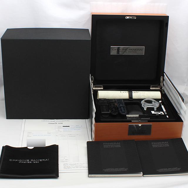 ルミノール1950 8DAYS GMT クロノグラフ モノプルサンテ 世界250本限定モデル PAM00277 サブ画像4