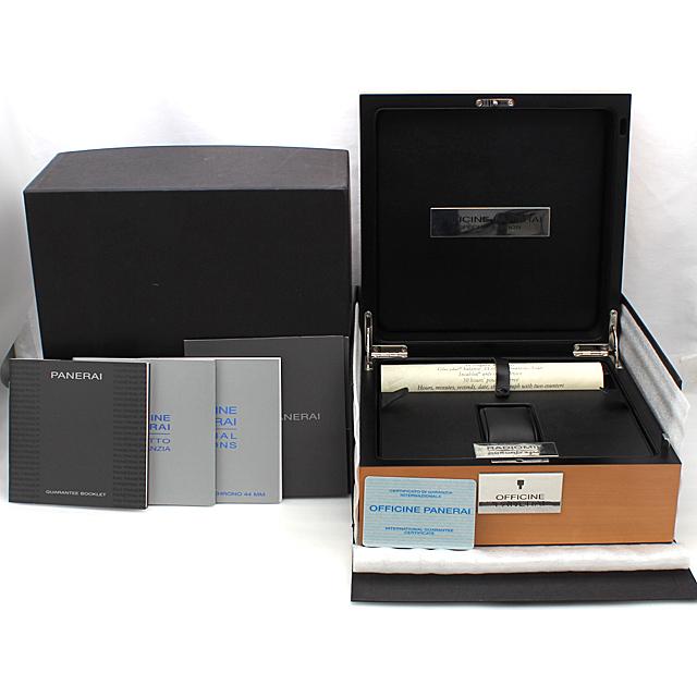 ラジオミール クロノグラフ 2003年スペシャルエディション 限定230本 PAM00163 サブ画像4