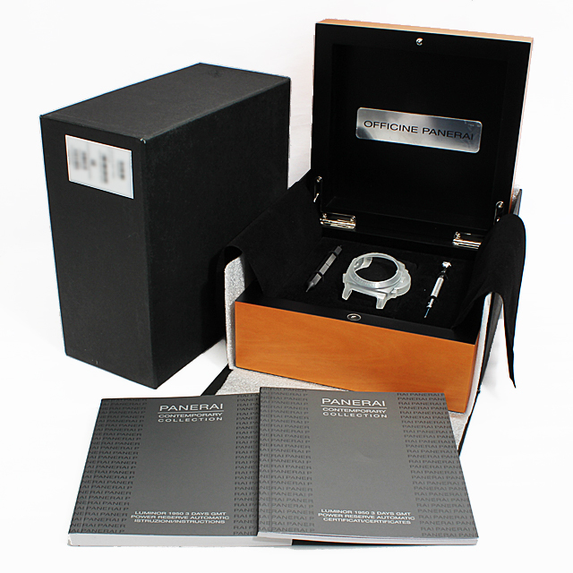 ルミノール1950 3DAYS GMT パワーリザーブ PAM00347 サブ画像4