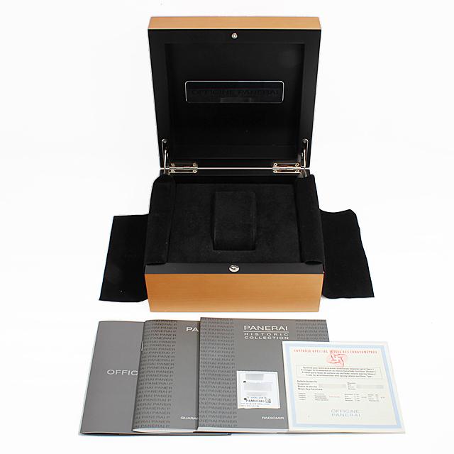 ラジオミール ブラックシール ロゴ PAM00380 サブ画像4