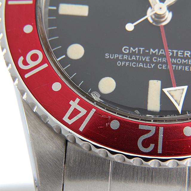 GMTマスター 赤青ベゼル 1675 サブ画像4