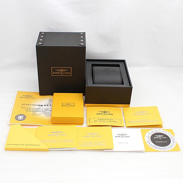 ナビタイマー01 リミテッド 世界限定2000本 S232G56NP サブ画像4