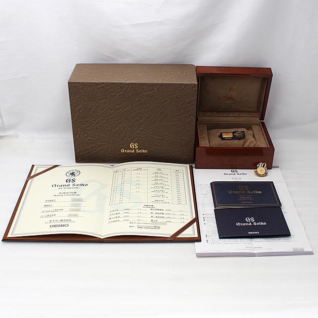 グランドセイコー 40周年記念モデル SBGR013 サブ画像4