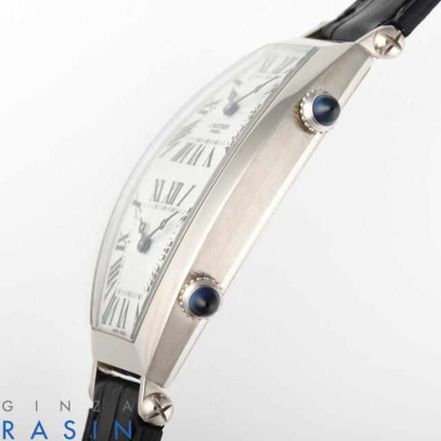 カルティエ(CARTIER) トノー XL 2タイムゾーン CPCP WG W1547951 時計銀座羅針RASIN