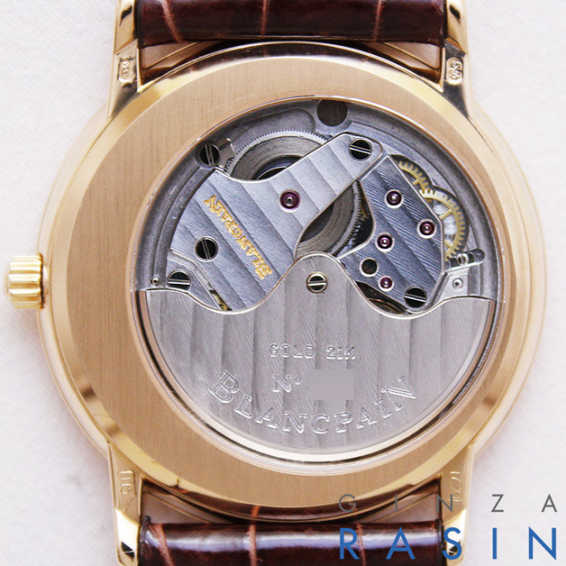 ブランパン(BLANCPAIN) ヴィルレ ウルトラスリム オートマチック 時計銀座羅針RASIN