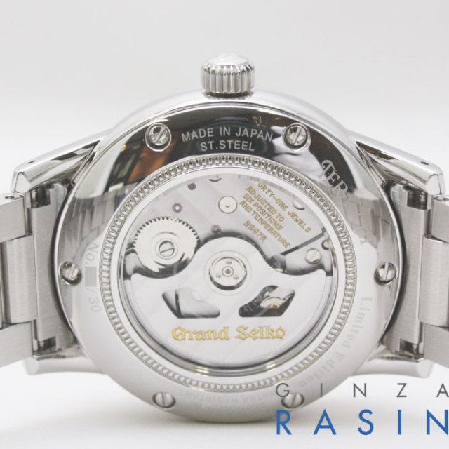 セイコー9S67-00H0 パワーリザーブSBGL019  時計銀座羅針RASIN