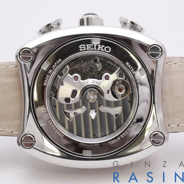 セイコー(SEIKO) ガランテ クロノグラフ SBLA027 時計銀座羅針RASIN