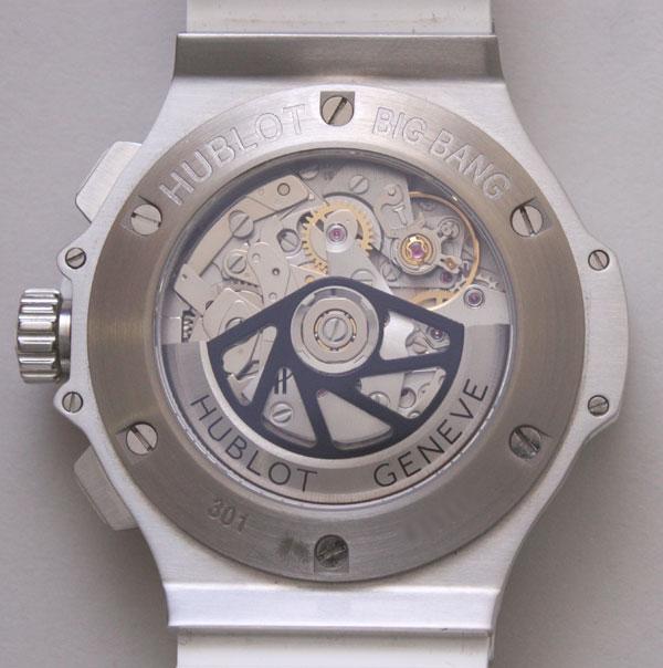 ウブロ(HUBLOT)ビッグバン サンモリッツ 301.SE.230.時計銀座羅針RASIN