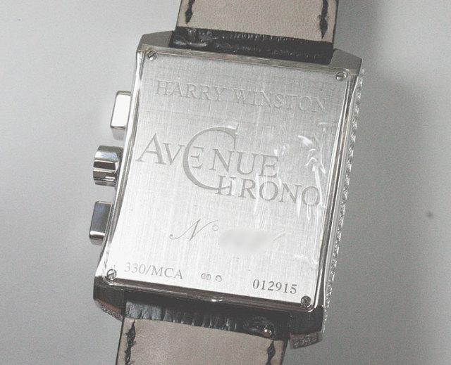 ハリーウィンストン(HARRY WINSTON)アベニューC クロノグラフ 330MCA
