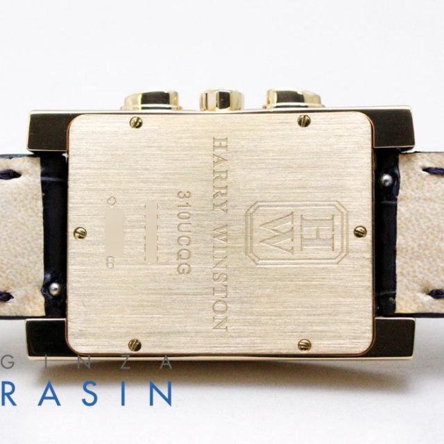 ハリーウィンストン(HARRY WINSTON)アベニュー クロノグラフ 310UCQG 時計銀座羅針RASIN