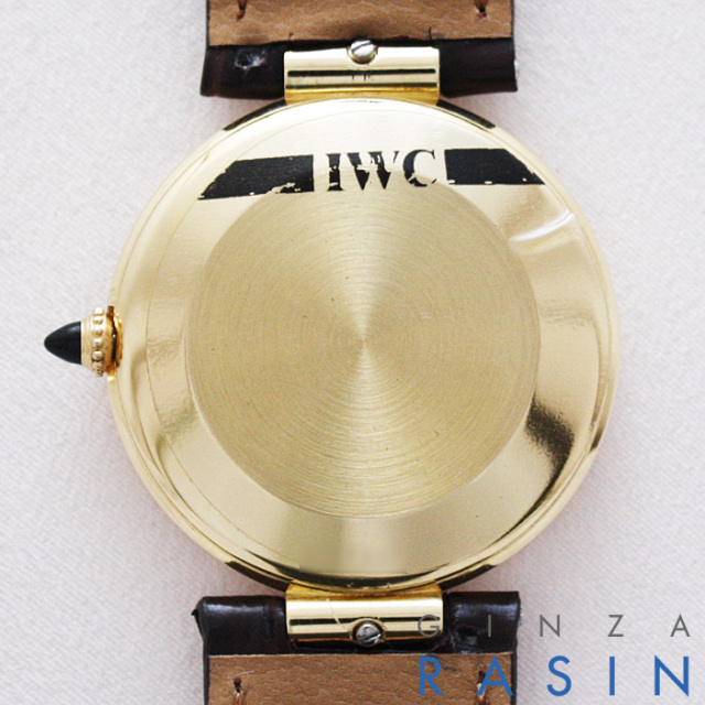 IWC ラウンドオートマチック 3203 時計銀座羅針RASIN