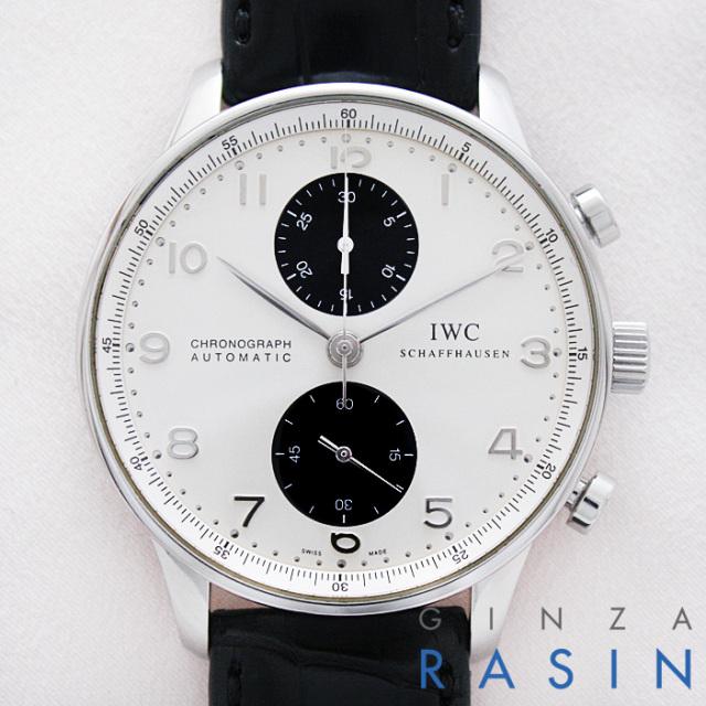 IWC ポルトギーゼ・クロノグラフ IW3714-11 時計銀座羅針RASIN