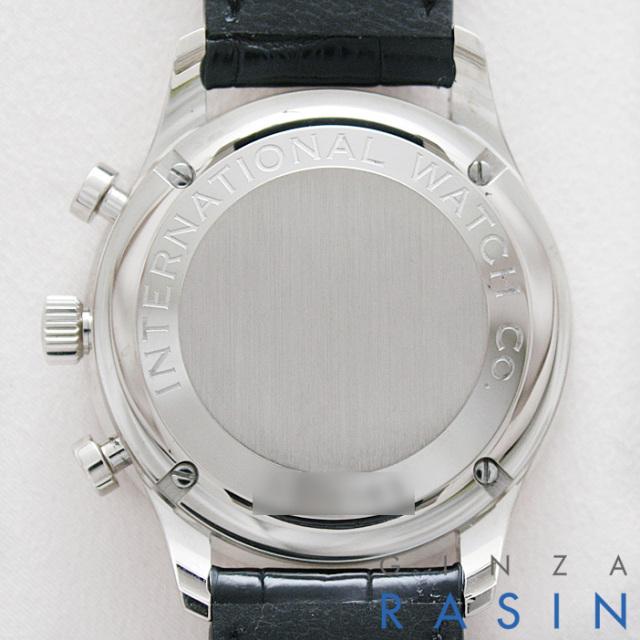 IWC ポルトギーゼ・クロノグラフ WG IW3714-31 時計銀座羅針RASIN