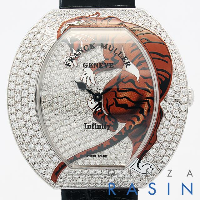 インフィニティ タイガー 全面ダイヤ 3545QZ TIG 2 D CD OG メイン画像