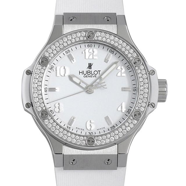 ウブロ ビッグバン スチールホワイト ダイヤモンド 361.SE.2010.RW.1104 新品 レディース