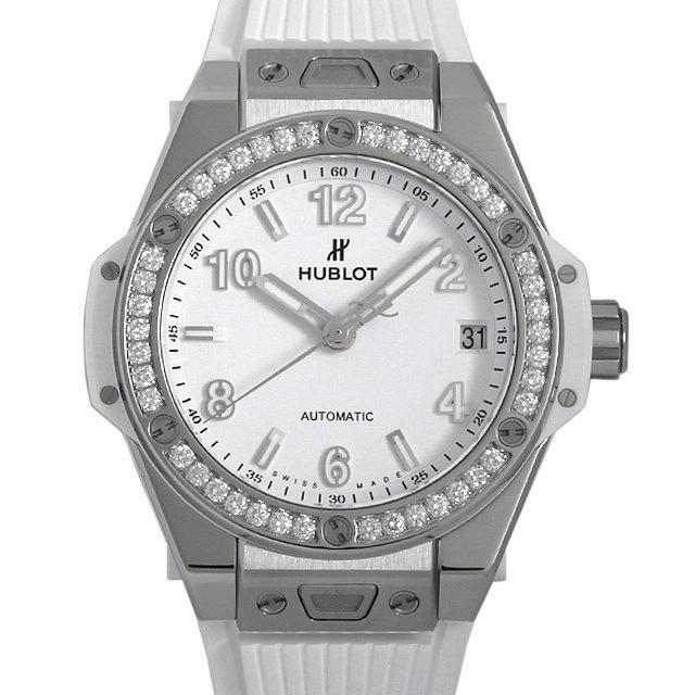 ウブロ ビッグバン ワンクリック スチールホワイトダイヤモンド 465.SE.2010.RW.1204 新品 ボーイズ(ユニセックス)