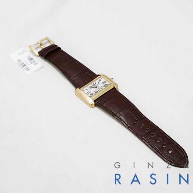 カルティエ(CARTIER) タンクディヴァン YG W6300856 時計銀座羅針RASIN