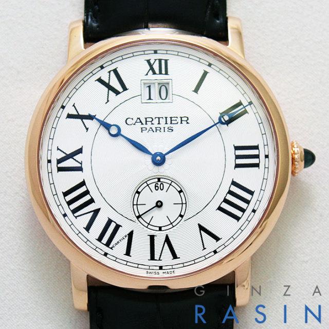 【新品】カルティエ(CARTIER) ロトンド ドゥ LM PG W1550251