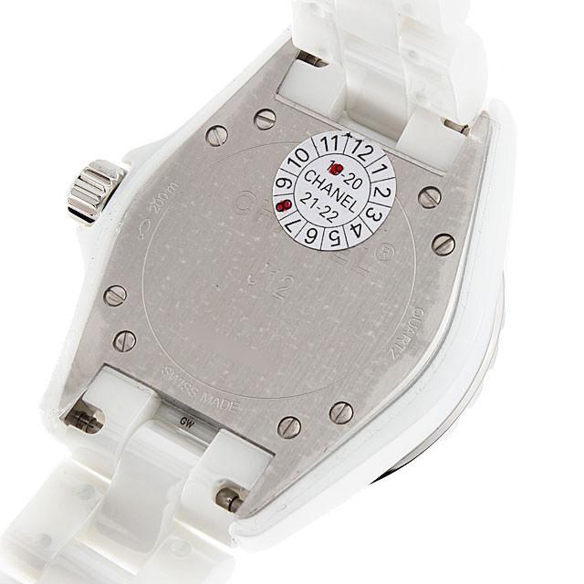 J12 白セラミック 12Pダイヤ H1628 サブ画像2