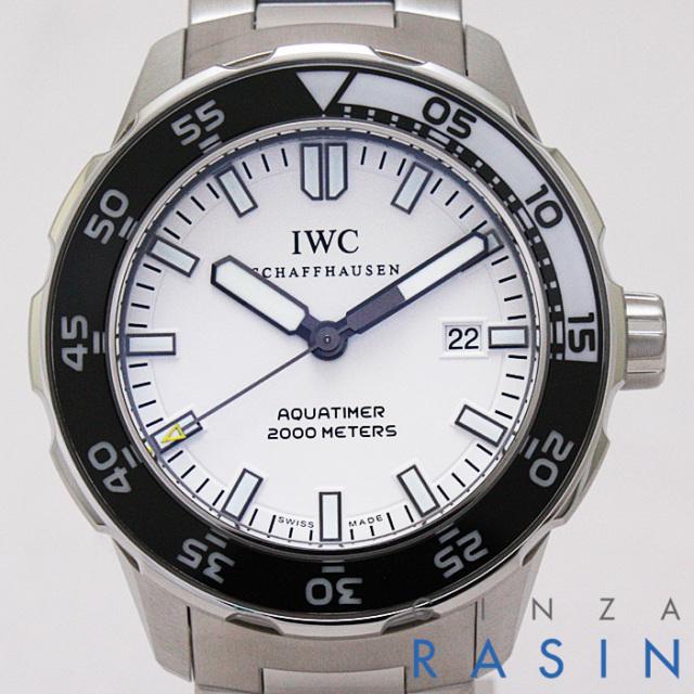 【新品】IWC アクアタイマー オートマチック2000 IW356805(3568-05) メンズ