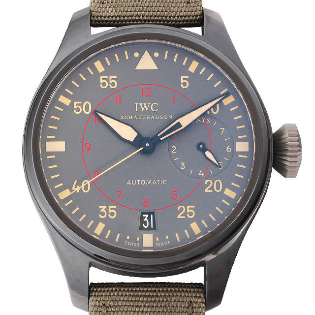 IWC ビッグパイロット トップガン ミラマー IW501902 新品 メンズ