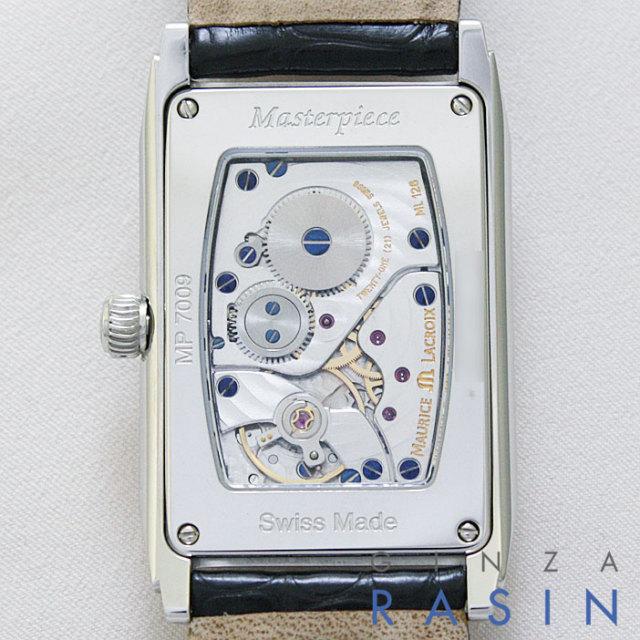 【新品】モーリスラクロア(Maurice lacroix) マスターピースレクタンギュラー MP7009-SS001-120
