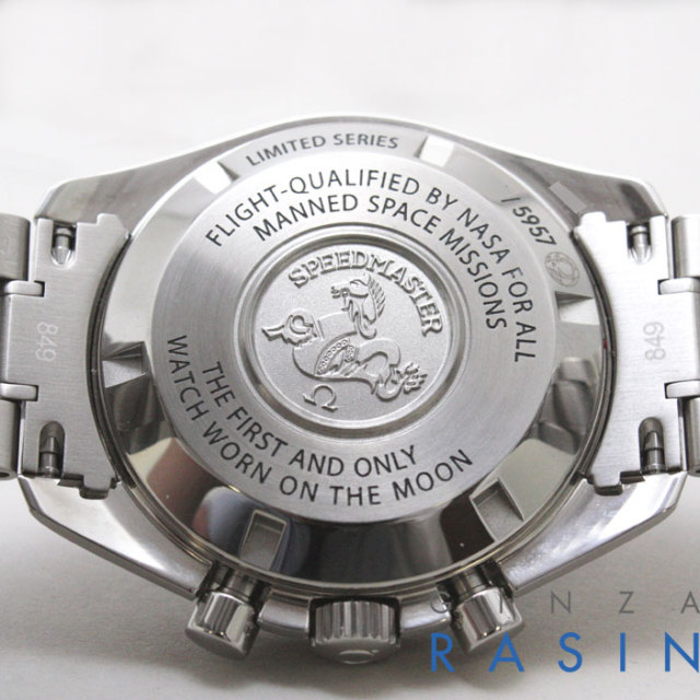 オメガ(OMEGA) スピードマスター311.30.42.30.01.001 時計銀座羅針RASIN