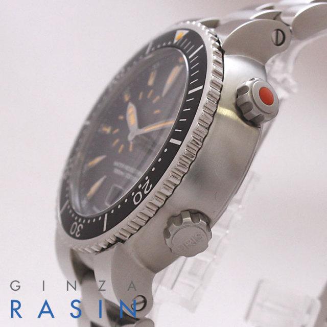 オリス(ORIS)TT1 ダイバーズ 01.643.7609.8454 時計銀座羅針RASIN