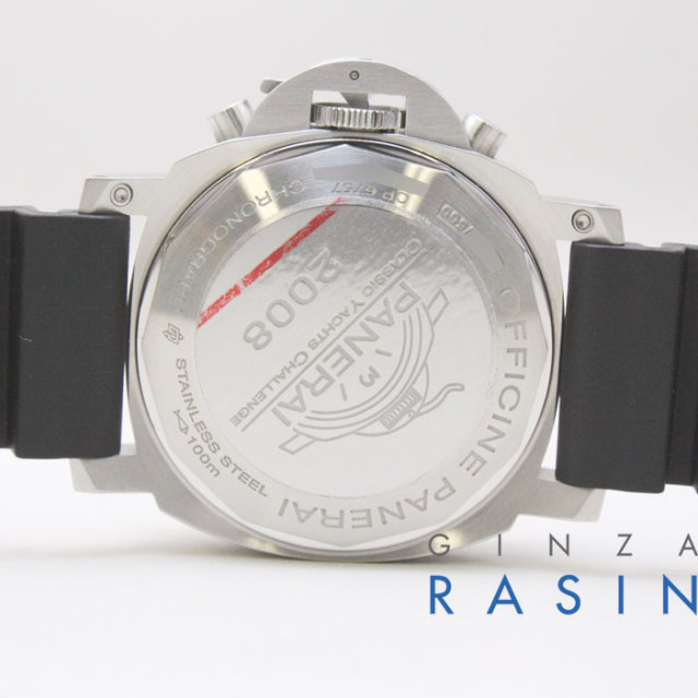 パネライ(PANERAI)ルミノール44mm レガッタクロノ2008 PAM00308 時計銀座羅針RASIN