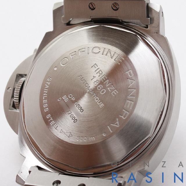 パネライ(PANERAI) ルミノールマリーナ D番 40mm PAM00069 時計銀座羅針RASIN