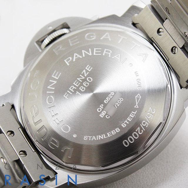 パネライ(PANERAI) ルミノール レガッタモンテカルロ C番 40mm PAM00081 時計銀座羅針RASIN